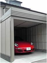 M様邸ガレージ設置